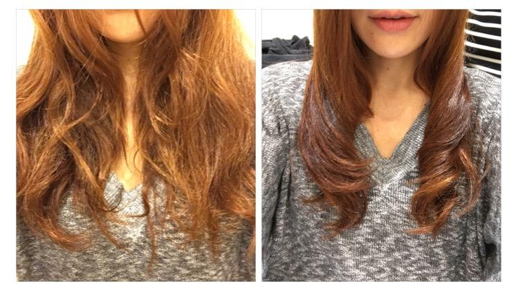 髪質改善サロンDearsでCGみたいな美髪になったけどこれガチ加工0だから!